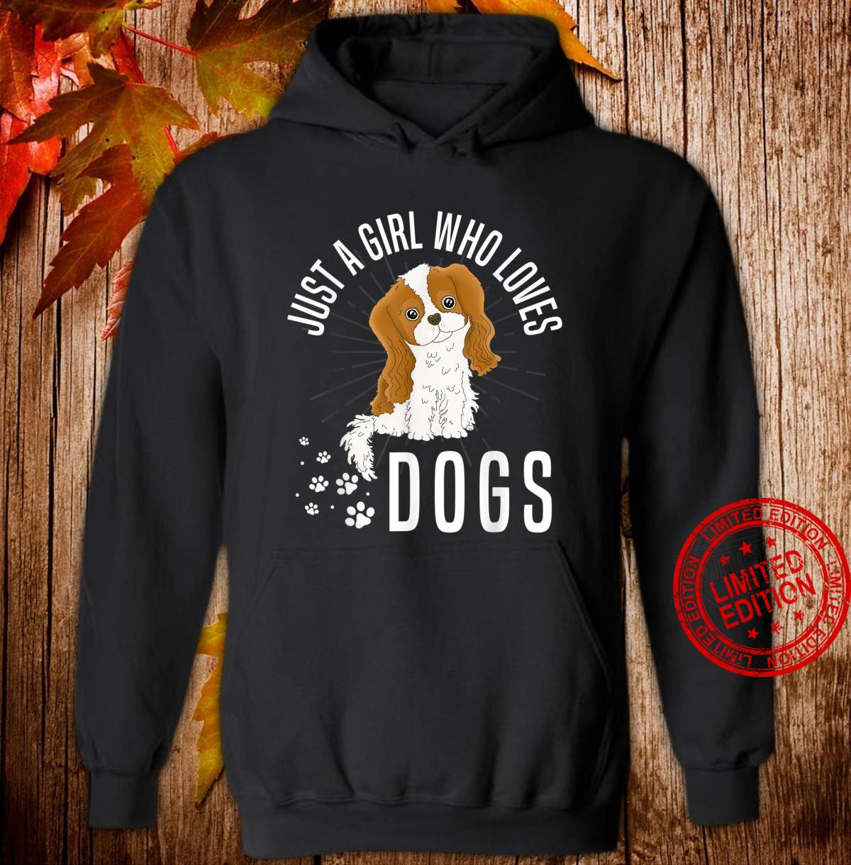 Just A Girl Who Loves Girl Dog Shirt hoodie