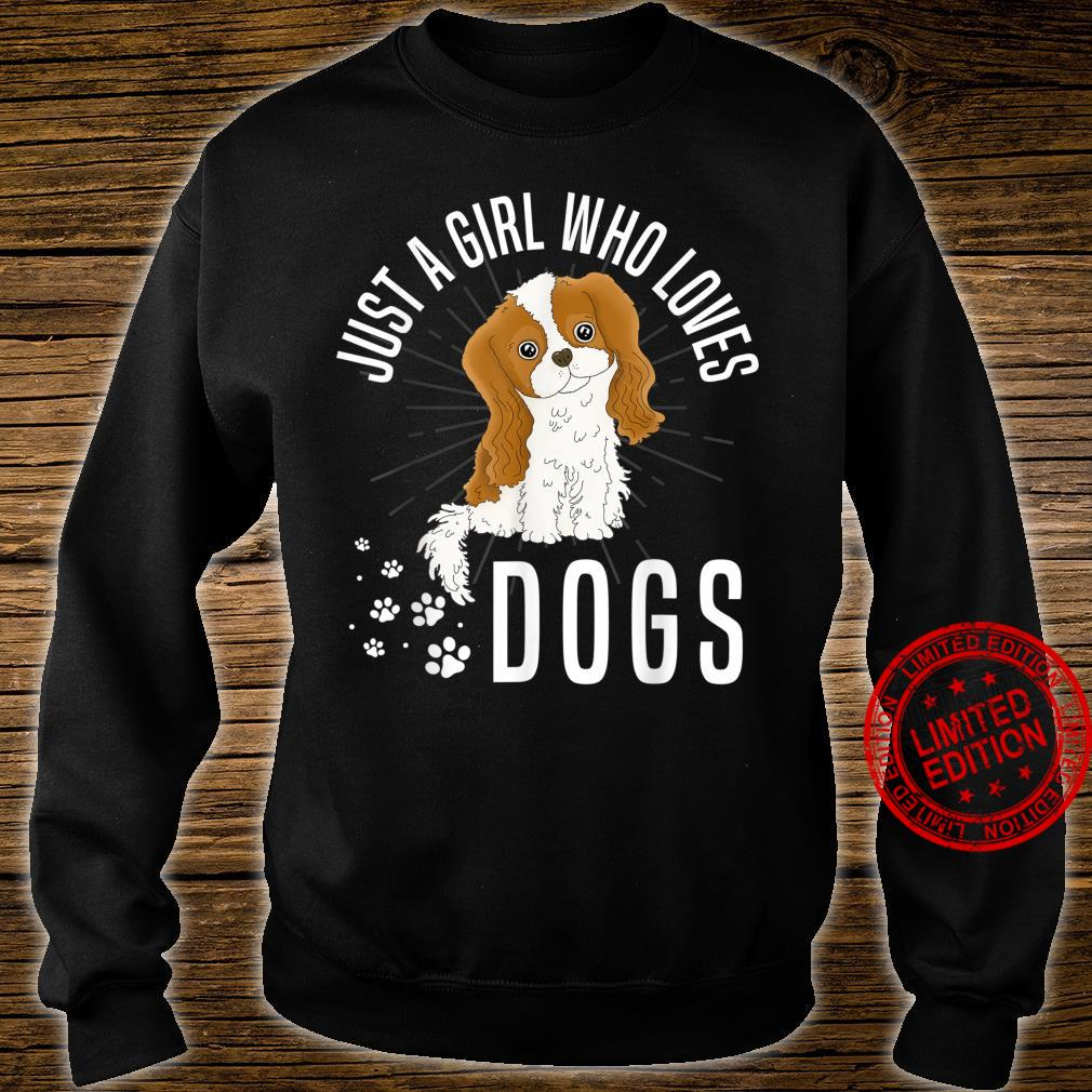Just A Girl Who Loves Girl Dog Shirt sweater