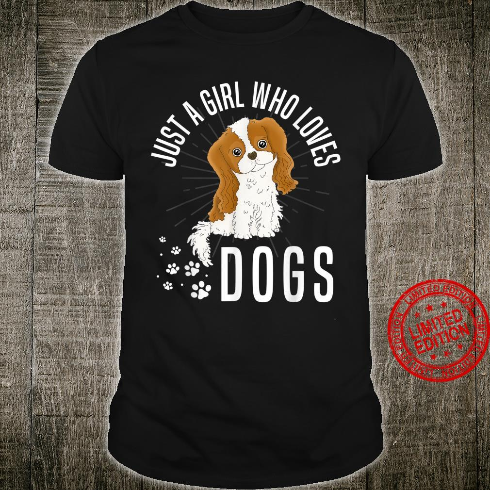 Just A Girl Who Loves Girl Dog Shirt