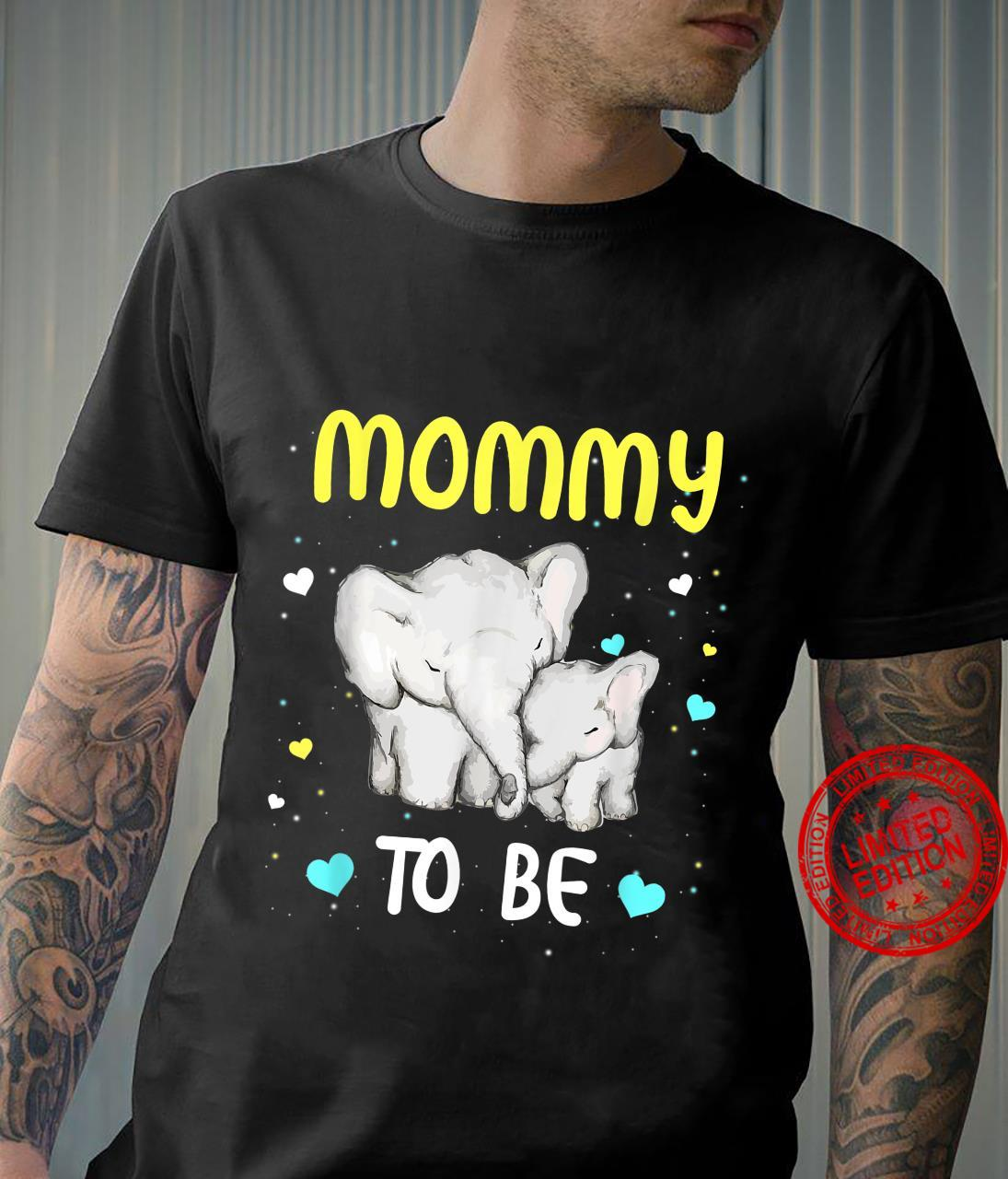 Mommy To Be Elephant Baby Shirt